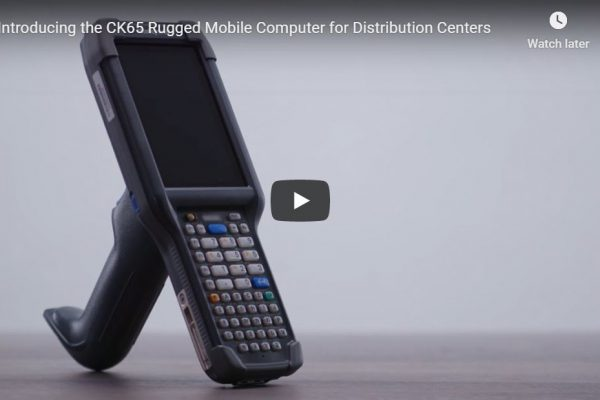 Introducing the CK65 Rugged Mobile Computer for Distribution Centers