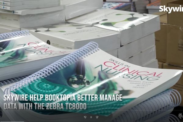 Skywire help Booktopia better manage data